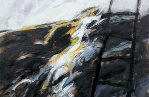 Materiali: olio, acrilico su cartoncino Fabriano.  <em>dimensioni 70x100</em>